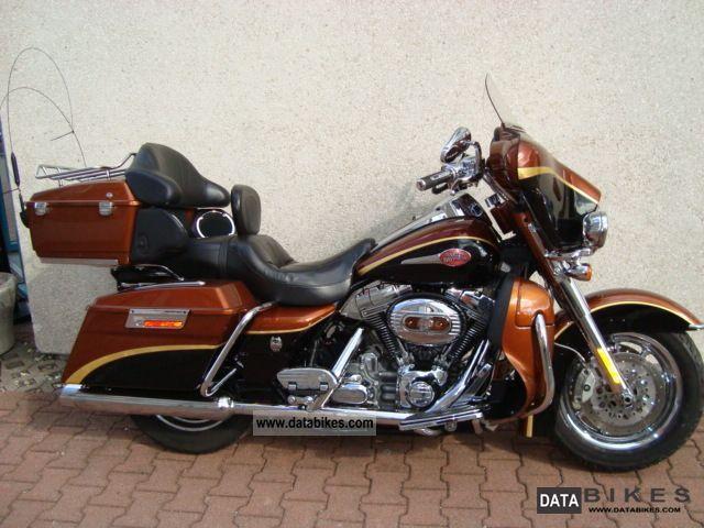2008 Harley Davidson  Ultra CVO Screamin Eagle Anniversary 105 ABS Motorcycle Chopper/Cruiser photo