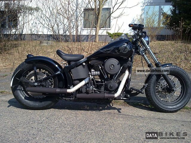 1999 Harley Davidson  FXST Softail Night Train Motorcycle Motorcycle photo