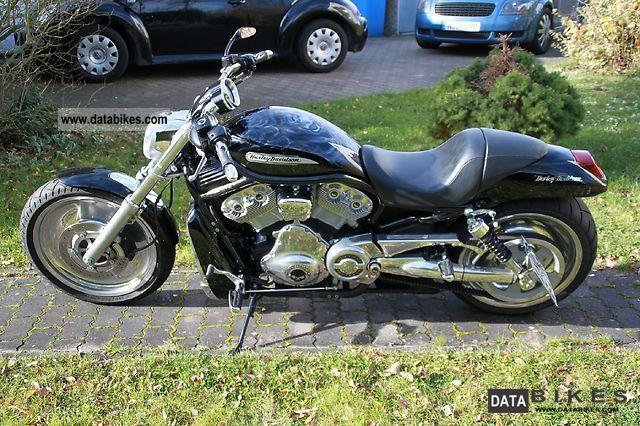 2004 Harley Davidson  V-Rod with 240 tires Motorcycle Chopper/Cruiser photo