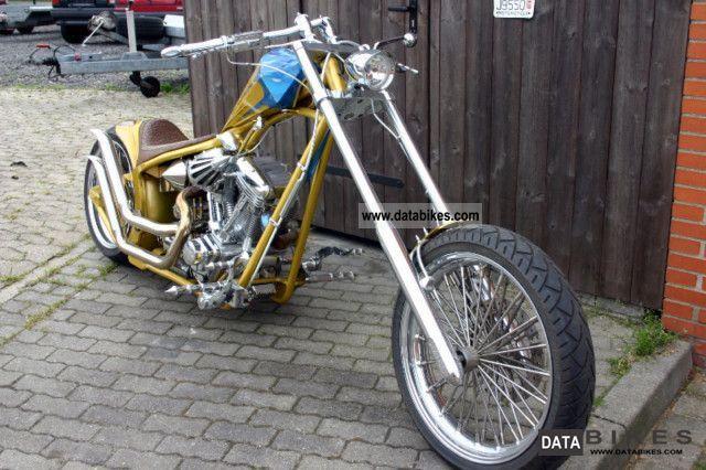 2007 Harley Davidson  Custom Chopper Frame With Kodlin Motorcycle Chopper/Cruiser photo