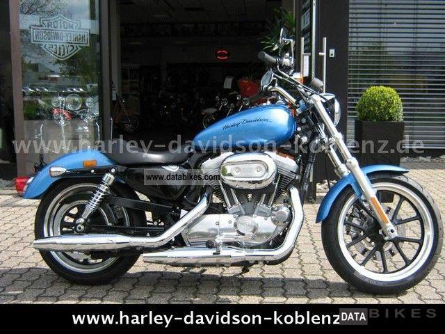 2010 Harley Davidson  XL883 Sportster SuperLow Motorcycle Chopper/Cruiser photo