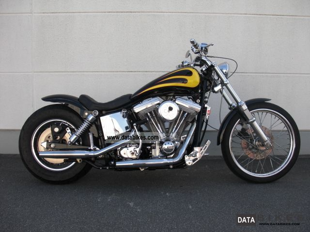 1987 Harley Davidson  FXDWG Dyna Wide Glide * EVO-TOP Motorcycle Chopper/Cruiser photo