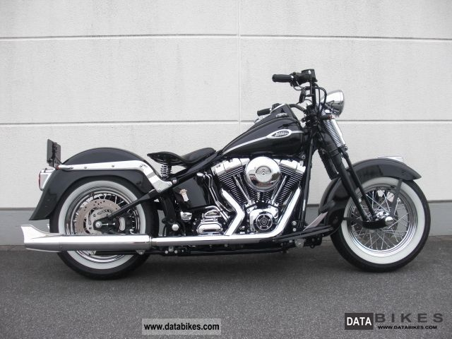 2006 Harley Davidson  * Bike Farm Classic FLSTS Springer * Motorcycle Chopper/Cruiser photo