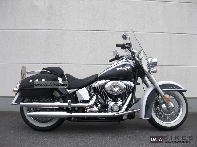 2007 Harley Davidson  * FLSTN Softail Deluxe * -2008 - Motorcycle Chopper/Cruiser photo