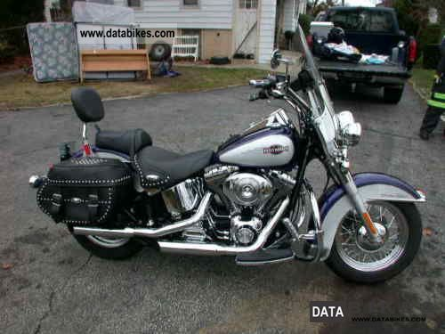 2009 Harley Davidson  HERITAGE SOFTAIL CLASSIC FLSTCI Motorcycle Sport Touring Motorcycles photo