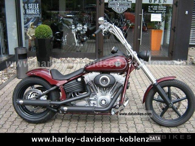 2011 Harley Davidson  -Later Softail Rocker Motorcycle Chopper/Cruiser photo