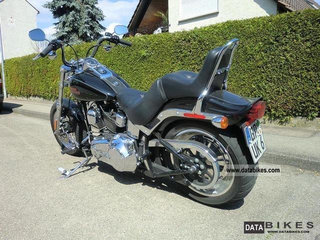2006 Harley Davidson  Softail Custom Motorcycle Chopper/Cruiser photo