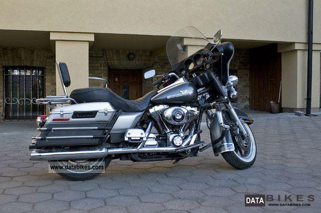 2000 Harley Davidson  FLHT Motorcycle Chopper/Cruiser photo