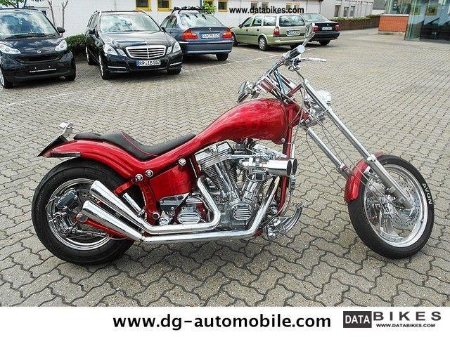 1988 Harley Davidson  FKST Softail Custom Motorcycle Chopper/Cruiser photo