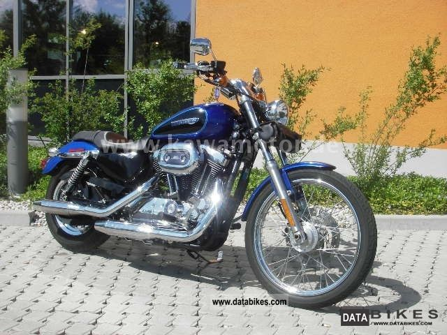 2008 Harley Davidson  Sportster 1200 lots of accessories Motorcycle Chopper/Cruiser photo