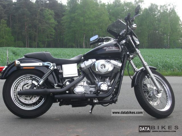 2001 Harley Davidson  Dyna Super Glide Motorcycle Chopper/Cruiser photo