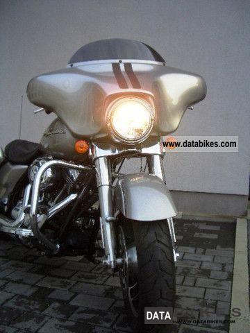 2009 Harley Davidson  Street Glide FLHX Pewter Pearl * 1 2009 * Hand * Motorcycle Chopper/Cruiser photo