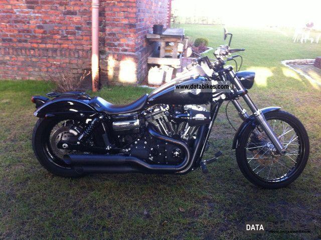 2009 Harley Davidson  2010 Dyna Wide Glide Motorcycle Chopper/Cruiser photo