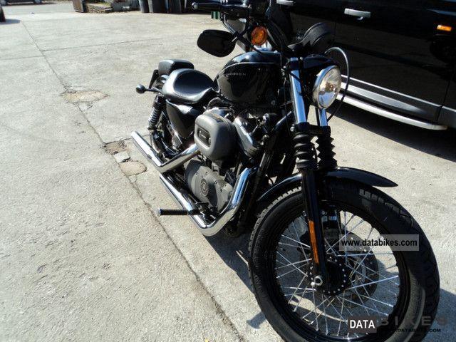 2007 Harley Davidson  Sportster Nightster XL1200N Motorcycle Motorcycle photo