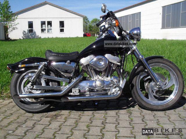 1994 Harley Davidson  XLH Motorcycle Chopper/Cruiser photo