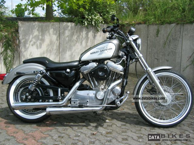 1997 Harley Davidson  XL883 Sportster Motorcycle Chopper/Cruiser photo