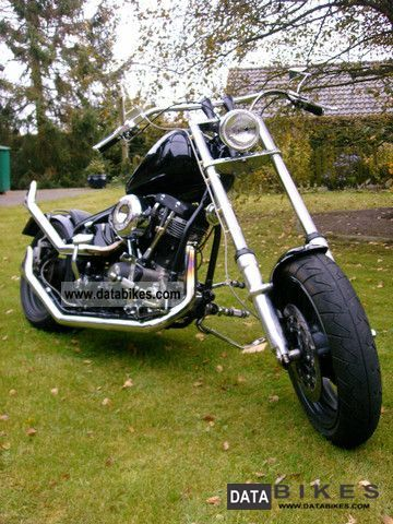 1955 Harley Davidson  FL - 1340 - rigid frames - EZ 01/07/1955 Motorcycle Chopper/Cruiser photo