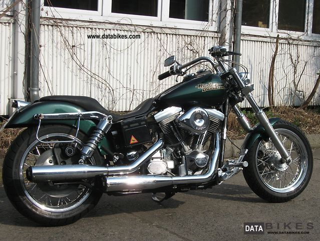 1996 Harley Davidson  FXD Dyna Super Glide Motorcycle Chopper/Cruiser photo