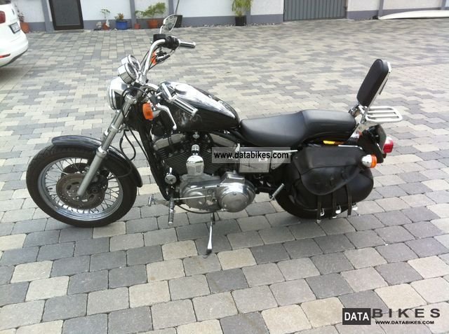 1998 Harley Davidson  1200 Sportster Motorcycle Chopper/Cruiser photo