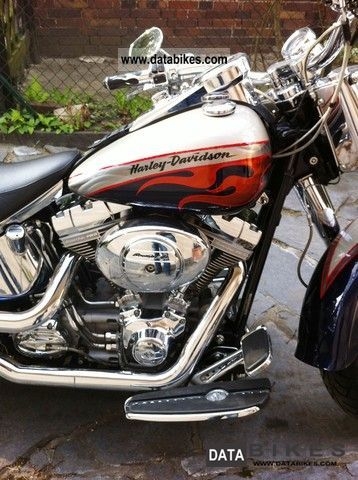 The Harley Davidson Custom Vehicle Operations Cvo Crew Has Inf 2006 Limited Edition Flstfse2 Screamin Eagle Fat Boy With Rowdy Performance And A