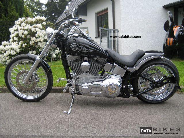 2003 Harley Davidson  FXST Softail Conversion 250 Jubimodell Motorcycle Chopper/Cruiser photo