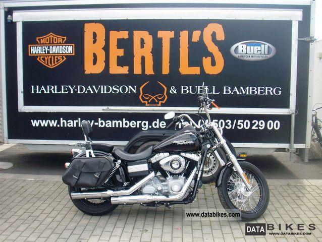 2009 Harley Davidson  FXDB Street Bob Motorcycle Chopper/Cruiser photo