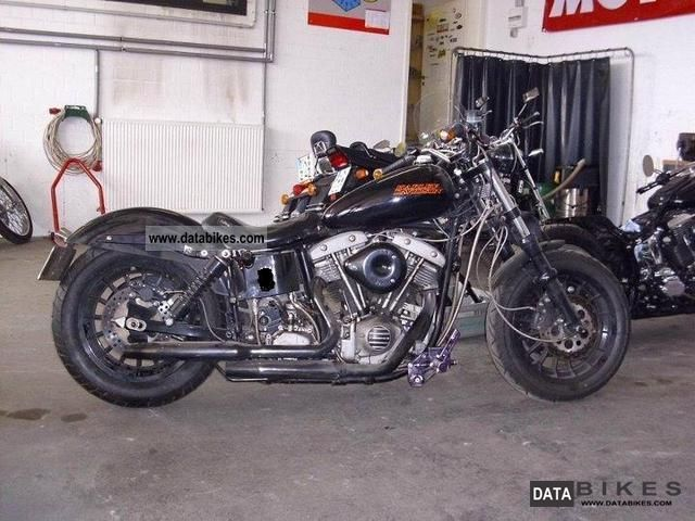1978 Harley Davidson  FXE Shovelhead 1200 Motorcycle Chopper/Cruiser photo