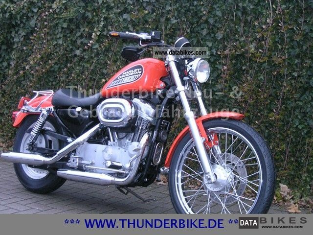 2000 Harley Davidson  XL 883 R Motorcycle Motorcycle photo