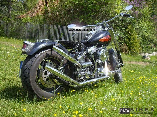 Harley Davidson  Softail frame in the Haas 1995 Chopper/Cruiser photo