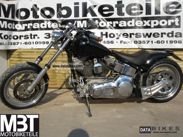 2000 Harley Davidson  Softail FS2 - FLSTF complete conversion Motorcycle Chopper/Cruiser photo