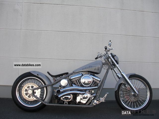 2011 harley davidson fl manhattan star custom frame construction chopper bike