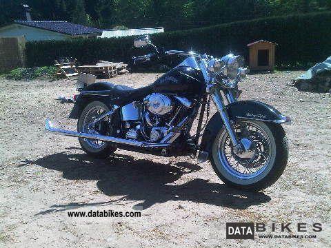 2002 Harley Davidson  Heritage Softail Motorcycle Chopper/Cruiser photo