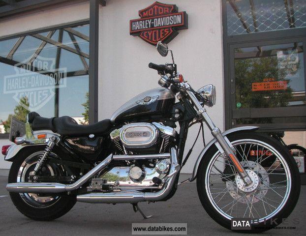 2003 Harley Davidson  Sportster 1200 Custom Motorcycle Chopper/Cruiser photo