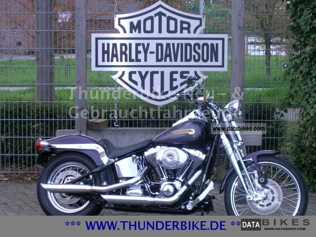 2004 Harley Davidson  FLSTS Softail Springer - Twin Cam - TOP Motorcycle Chopper/Cruiser photo