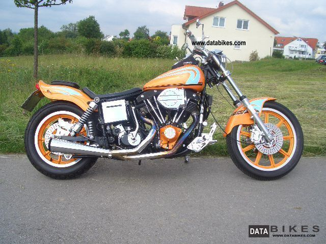 Harley Davidson  FXS Low Rider 1340 Shovel 1980 Chopper/Cruiser photo