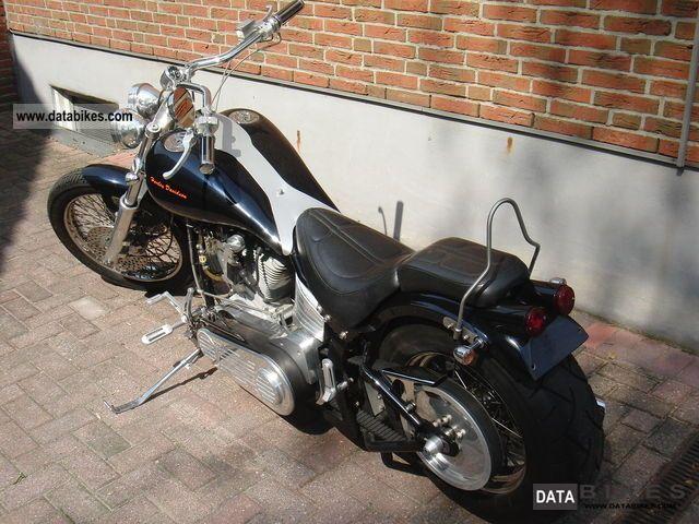 1999 Harley Davidson  Softail Custom Bunderham (NL) Motorcycle Chopper/Cruiser photo
