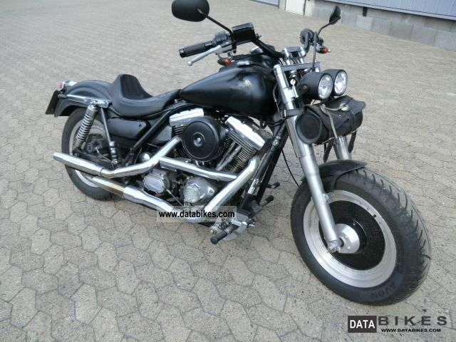 1991 Harley Davidson  FXR Motorcycle Chopper/Cruiser photo