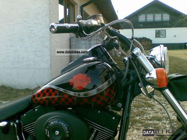 2000 Harley Davidson  FXSTB Softail Night Train Motorcycle Chopper/Cruiser photo