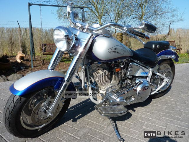 2005 Harley Davidson  Custom Fat Boy / Softail / S & S 6-speed 96cui/Primo Motorcycle Chopper/Cruiser photo