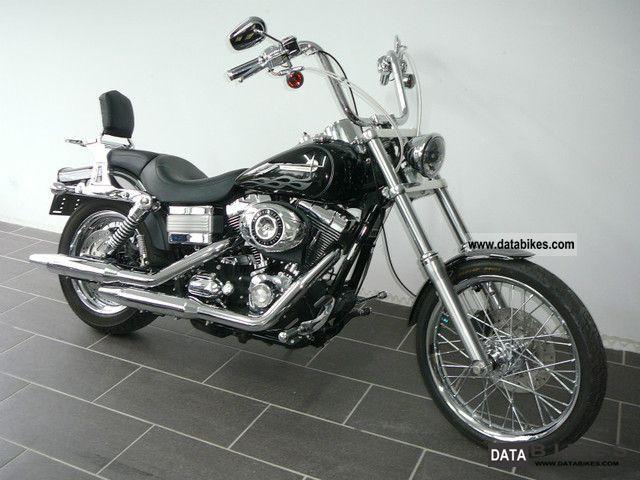 2007 Harley Davidson  Dyna Wide Glide FXDWGI * much * Accessories Motorcycle Chopper/Cruiser photo