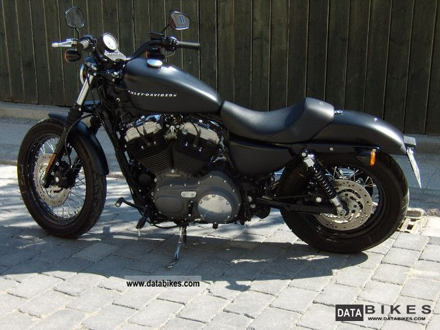 2009 Harley Davidson  1200 Sportster Nightster Motorcycle Chopper/Cruiser photo