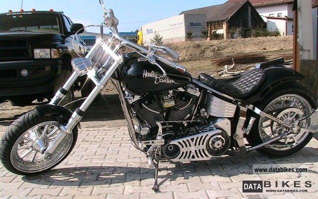 1997 Harley Davidson  Softail Motorcycle Chopper/Cruiser photo