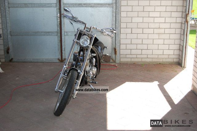 2008 Harley Davidson  Highneck chopper Motorcycle Chopper/Cruiser photo