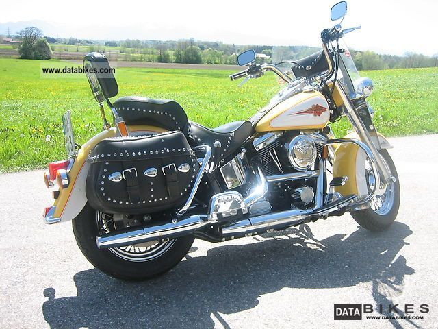 1995 Harley Davidson  Heritage Softail Classic Motorcycle Chopper/Cruiser photo