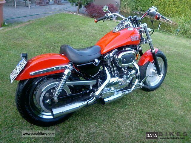 1996 Harley Davidson  Sportster XL 1200 Custom Motorcycle Chopper/Cruiser photo