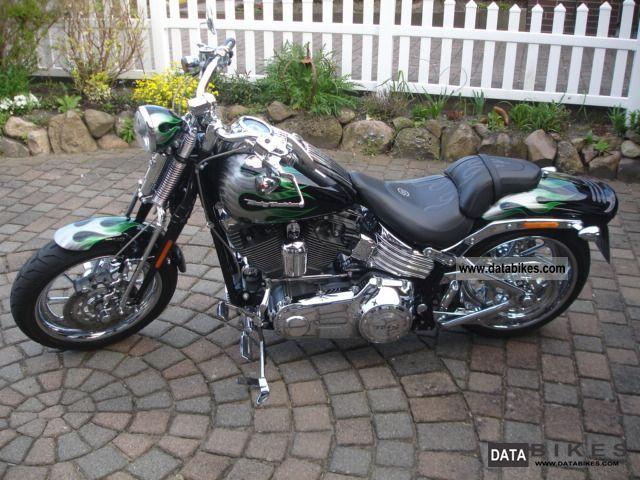 2009 Harley Davidson  FXSTSSE3 CVO Softail Springer Motorcycle Chopper/Cruiser photo