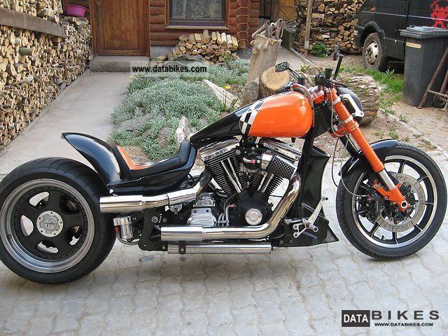 1989 Harley Davidson  FXR Motorcycle Chopper/Cruiser photo