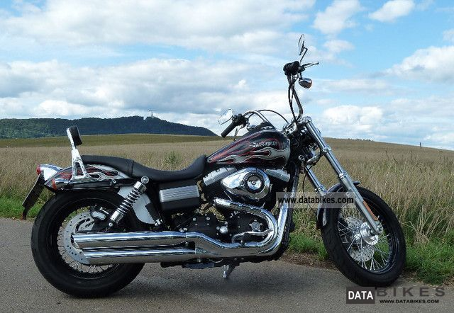 2010 Harley Davidson  FXDB Motorcycle Chopper/Cruiser photo