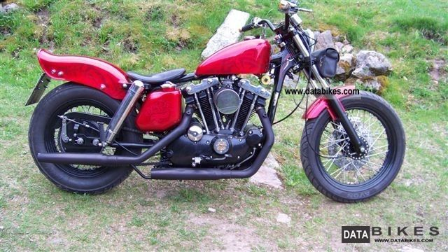 1977 Harley Davidson Sportster Motorcycle Photo Pictures