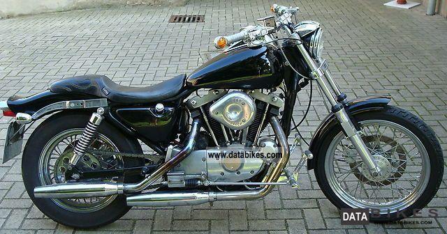 1984 Harley Davidson  sportster 1000 XLH Motorcycle Chopper/Cruiser photo